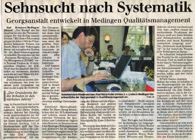 Bericht vom ersten Konsenstreffen 2003 in der AZ