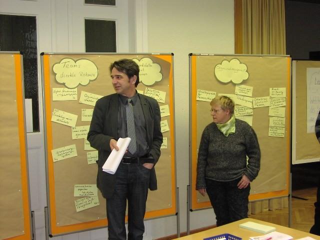 Vorstellung der Ergebnisse der Strategiewerkstatt 2009